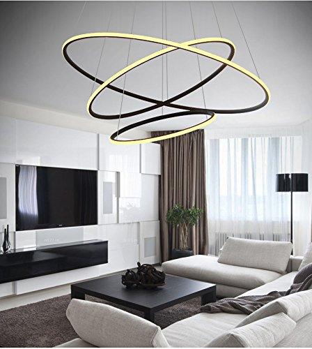 Saint Mossi® Exklusiv Entwurf Modern Kronleuchter Lüster Hängelampe Pendelleuchten LED Deckenleuchte Drei Stufe Leuchter Aussehen Einstellbar LED Lichtquelle Integriert - 5