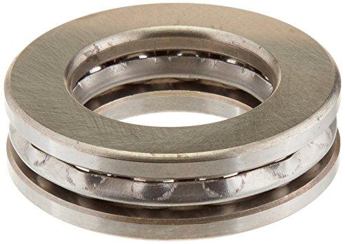 Preisvergleich Produktbild Silber 51207 37mm x 60mm x 16mm Magnetische Axial Druckkugellager