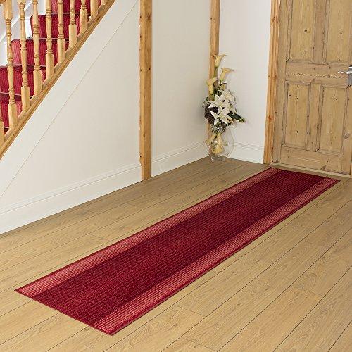 Capitol Red - Long Hall & Stair Carpet Runner
