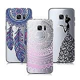 3X Étui Samsung Galaxy S7 Edge, Silicone Coque Ultra Mince Transparente TPU Gel...