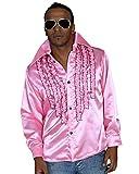 Schlagerhemd rosa (XXXL, Rosa)