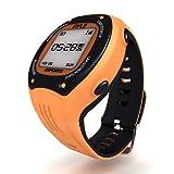 Pyle PSGP410OR - Reloj deportivo GPS, color naranja