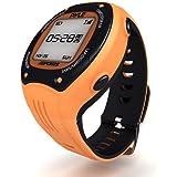 Pyle Montre numérique Multifonction LED avec Navigation GPS/ANT+ + Boussole Electrique pour Entraînement sportif