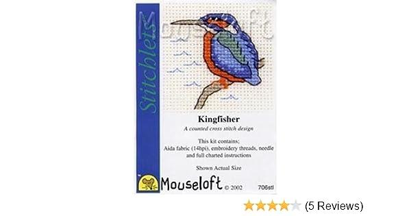 Mouseloft stitchlets CROSS STITCH KIT ~ Hummingbird ~ NUOVO