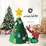 Best Christmas Gifts For Toddlers - UMIWE 3D DIY Felt Christmas Tree with 18PCS Review