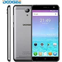 VR Movile Libre, DOOGEE X7 PRO 4G Telefonos Celulares, Pantalla 6 IPS, Android 6.0, 2GB+16GB, MT6737 Quad Core, Doble SIM Smartphone - Plata