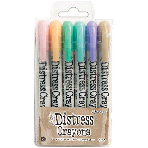 Ranger Distress Crayons set 5