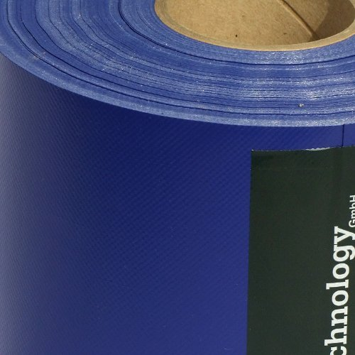 M-tec Profi-line ®✔ PVC ✔ Zaunsichtschutzstreifen ✔ 65m x 19cm ✔ Ultramarin Blau ✔ | – Nach M-tec technology Rezeptur hergestellt –