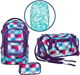 Satch Schulrucksack-Set 4-TLG Pack Hurly Pearly Bunt