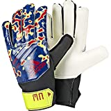 ADIDAS PRED J MN Goalkeeper Gloves, solar Yellow/Football Blue/Active red, 4.5