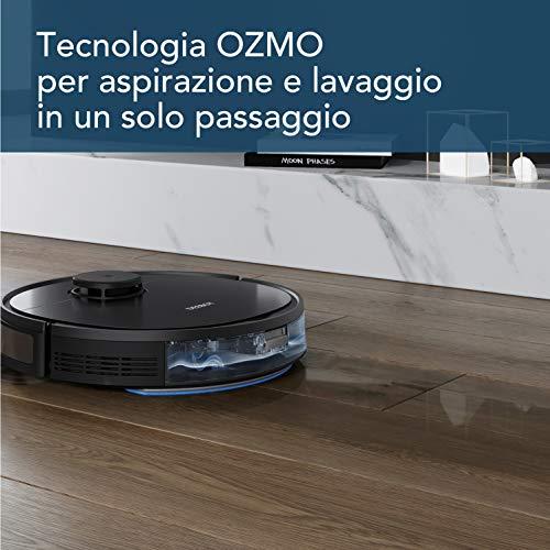 LICHIFIT Spazzola Principale Spazzola Laterale Filtro HEPA Schermo Antipolvere Ruota Universale per ecovac DEEBOT OZMO 950 Aspirapolvere robotizzato Accessori