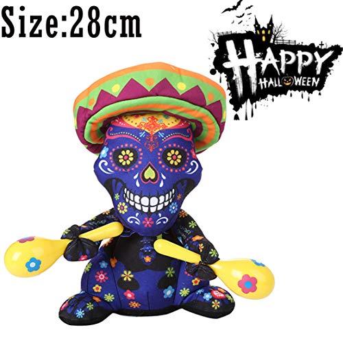 Happy Event Halloween Party Dekoration Gefüllte Plüsch | Halloween Ghost Nightmare Animiertes Spielzeug (A)