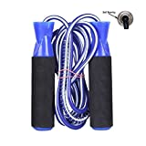 #7: Neulife Exclusive Skipping Rope For Men Women Weight Loss Ball Bearing Skipping Rope (Blue, Pack of 1)