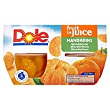 Dole Obstschale Mandarinen Traubensaft (4X113G)