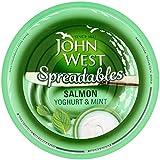 John West Untables Yogur Salmón Y 80g De Menta (Paquete de 6)