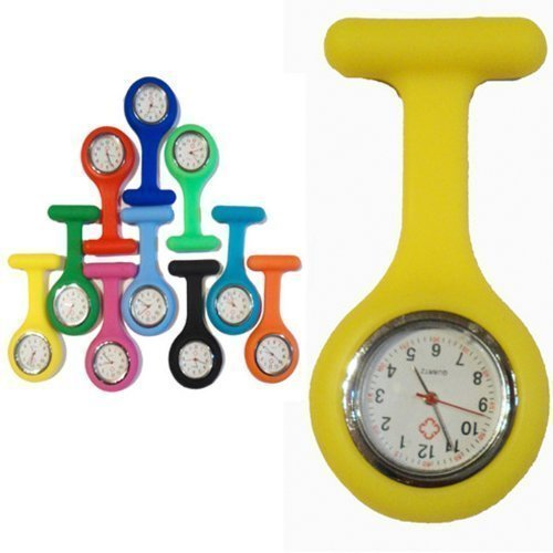 infirmiere-fob-watch-avec-quartz-mouvements-jaune