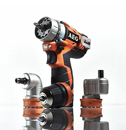 AEG BBS 12C2 202C KIT1Perceuse pistolet Lithium-Ion 2Ah 1200g–Sans fil Multifonction (perceuse pistolet, foreuse, tournevis, 2,5cm, 2cm, 1,3cm, 32Nm)
