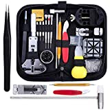 Zacro 151pcs Watch Repair Tool Kit Professional Spring Bar Tool Set, Watch Band Link Pin Tool Set with Carrying Case