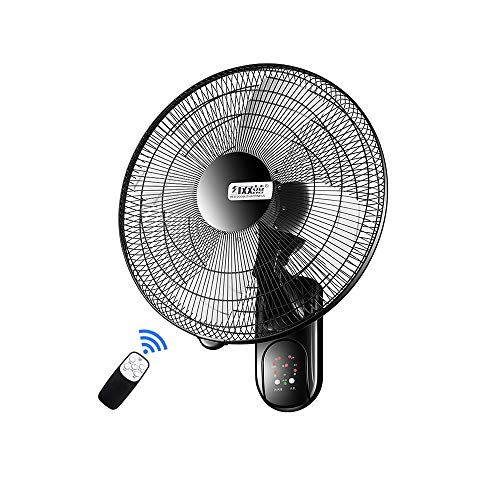 Ventilador de Pared Industrial Control Remoto Inteligente Ventilador de Metal súper Fuerte...