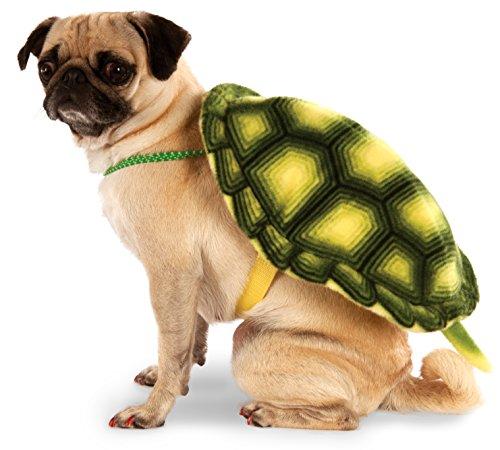 Turtle Kostüm Plüsch Ninja - Rubies Costume Company Rucksack für Haustiere, Schildkröten-Design, Small/Medium, Mehrfarbig