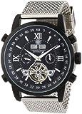 Constantin Durmont Herren-Armbanduhr XL Calendar Analog Automatik Edelstahl CD-CALE-AT-STM-IPIP-BK