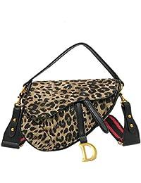 263d14b2ef8 TYUJYT Sac à bandoulière Mode Leopard Imprimer Femmes Sac De Selle De Luxe  Sac À Main