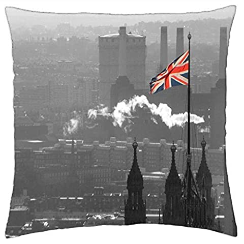 The Union Jack - Throw Pillow Cover Case (18