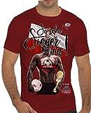 Stylotex Slimfit Fashion T-Shirt So sehn Sieger aus Guy Polen Polska, Farbe:rot;Größe:M