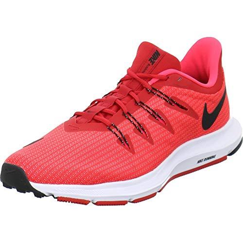 Nike Quest, Zapatillas de Atletismo para Hombre, Multicolor University Black/Red Orbit 600, 42 EU