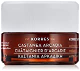 KORRES– Crema de día antiarrugas reafirmante para piel normal a mixta Castanea Arcadia, 40ml