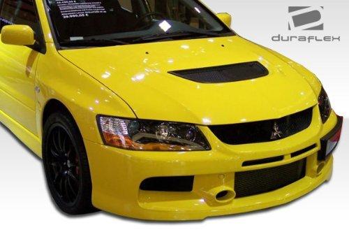 2003-2006-mitsubishi-lancer-evolution-8-9-duraflex-mr-edition-front-bumper-cover-1-piece-by-duraflex