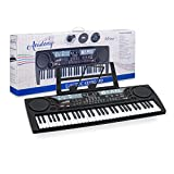 Academy of Music Electric Keyboard for Kids, 61 Key Beginner Music Station