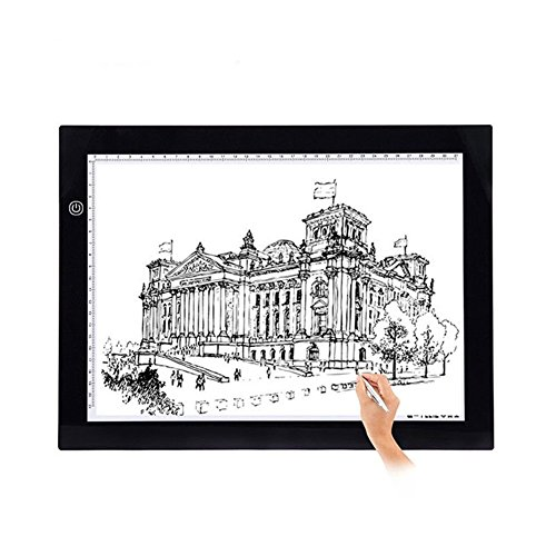 fiktablett Touchpad Animation Bleistift Skizze Lightbox (A3) (Bleistift-skizze-kunst)