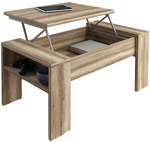 Studio Decor Andrea Table Basse relevable en Bois Coloris Canyon 98 x 50 x 43 cm