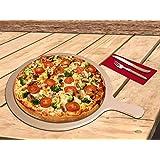 Pizza Tabla–sobrecogedora & prácticamente–Redonda–Tamaño L 42x 32x 0,9