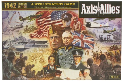 Wizards of the Coast 39688 Axis & Allies 1942 - Juego de mesa sobre gu