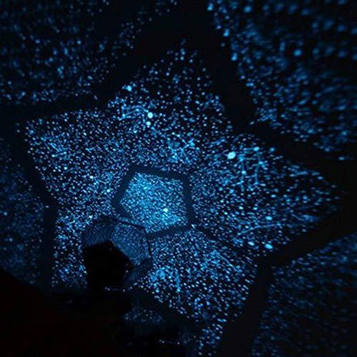 Star-Projektor Lampe - Projektor - Ozean, Schlaflicht - Schlafzimmer Traum Geburtstagsgeschenk - Surf Schlafzimmer Sternenhimmel sternenklares Romantisches Geburtstagsgeschenk (blaues Licht)