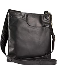 Gigi - Women s Leather Cross Body Handbag - Shoulder Bag with Long  Adjustable Strap - OTHELLO fee90a0f129e5