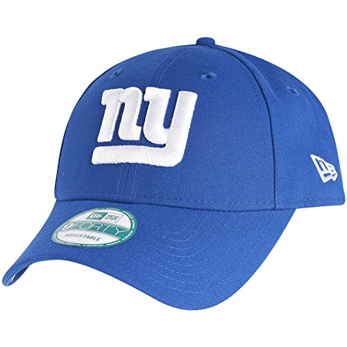 Imagen de new era 9forty   con ajuste trasero, diseño de la liga nfl, unisex, new york giants #2714, osfm one size fits most