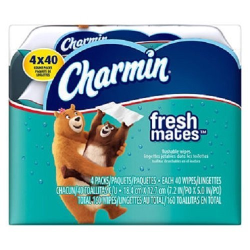 charmin-freshmates-flushable-wet-wipes-4pk-40ct-refills-by-megadeal