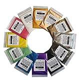 VITORY reines mica (12 Farben 10g / 0,35 unzen pro stück), Colorant Pigment-Puder-Pack (epoxy,...