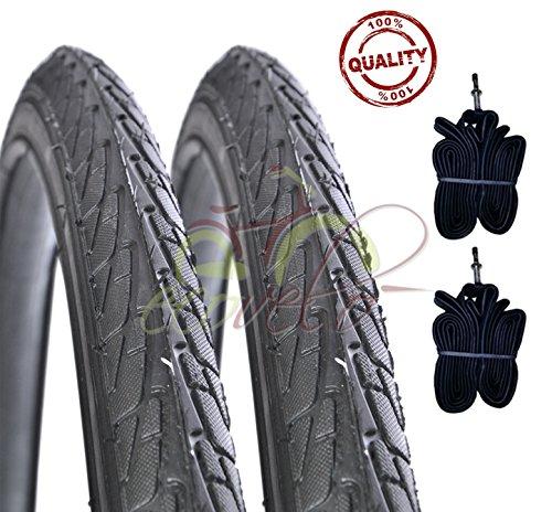 Due copertoni + 2 camere 26 x 1 3/8 bieffe (37-590) per bici bicicletta olanda bike city bike