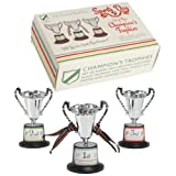 Set Of 3 Sports Day Champion's Trophies