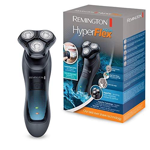 Remington HyperFlex Aqua XR1430 - Máquina de Afeitar Rotativa, Cortadores de...
