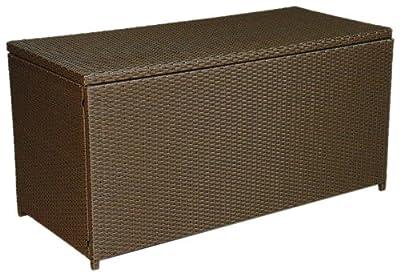Hansen Outdoor 10/190/125 Outdoor-Kissenbox, B 123, T 55, H 60 cm, braun meliert