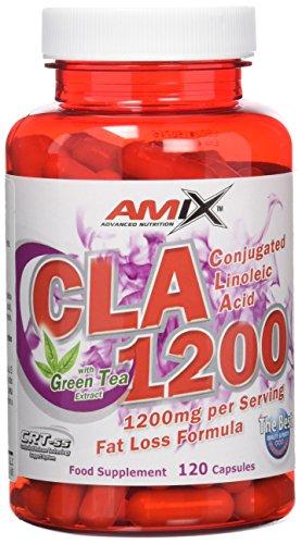 Amix CLA 1200 Complemento Alimenticio - Quemador de grasa, 43.34 gr.