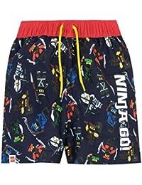 8ba9cb4964 LEGO Ninjago Boys Ninja Go Swim Shorts Ages 4 to 13 Years