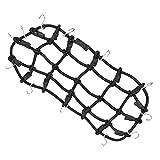 Sharplace Elastico Rete in Gomma per Bagagli per Rock Crawler Axial Scx10 Cc01 Rc4wd D90 Accessori Traxxas TRX-4 - Nero
