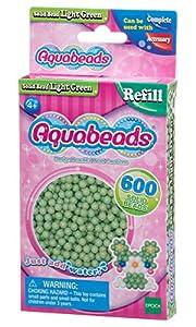 Aquabeads- Solid Beads, Color Verde Claro (Epoch para Imaginar 32538)