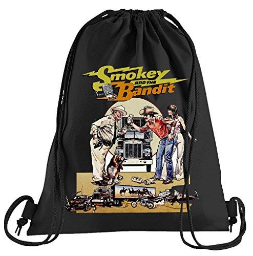 T-Shirt People Smokey and The Bandit Sportbeutel – Bedruckter Beutel – Eine schöne Sport-Tasche Beutel mit Kordeln